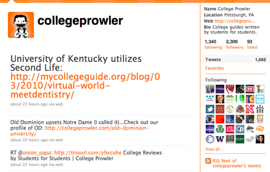 7 Great College Experts to Follow on Twitter