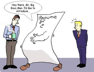 The Flabby Resume | Online Colleges