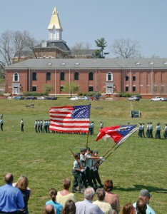 NGCSU Color Guard