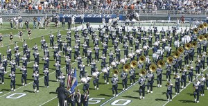 Penn State Blue Band and Color Guard by Ben Stanfield