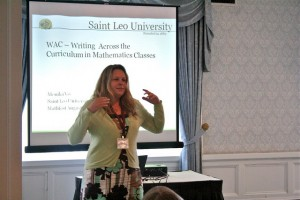 Monika Vo (Saint Leo University) Presents WAC - Writing Across the Curriculum in Mathematics by Maanow