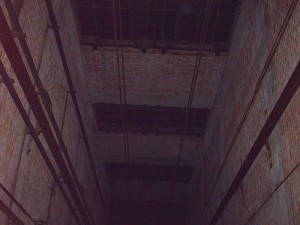 haunted elevator shaft
